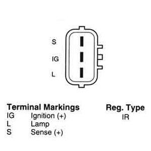 Samurai Stock Engine Diagram as well Alternator Upgrade additionally 1985 Chevy C20 350 Pulley Diagram additionally Hitachi Schematic Diagram likewise Wiring Diagram Hitachi. on wiring diagram for hitachi alternator